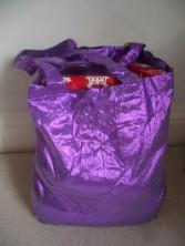 Shopping bag full