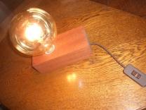 Edison-style table lamp