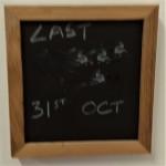 Small blackboard